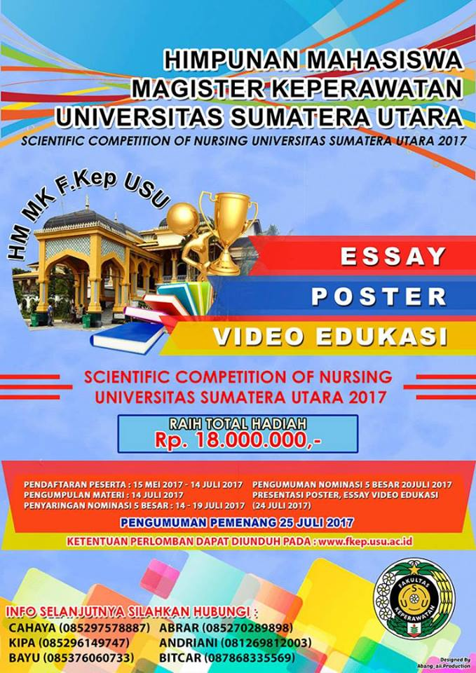 LOMBA SCIENTIFIC COMPETITION OF NURSING USU 2017