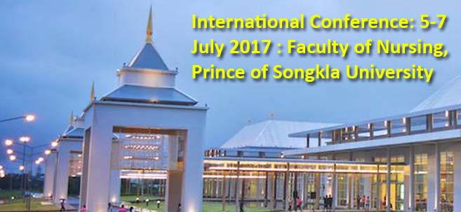 International Conference 5-7 July 2017 Prince Of Songkla University
